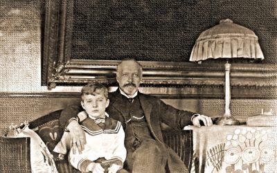 Борис Петрович Юргенсон (старший) 1868-1935 с сыном Петром