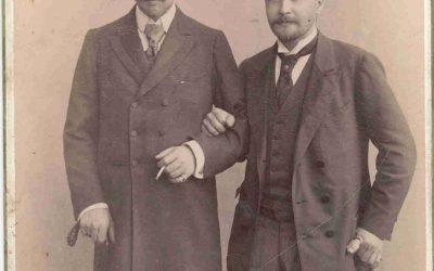 Борис Петрович Юргенсон ( 1868-1935г) с  Сергей Петрович Боткин (1832 – 1889 г. )