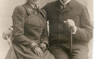 Борис Петрович Юргенсон (1868-1935 г.г.) и Мария Викторовна Юргенсон (1874-1953 г.г.)