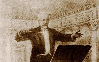 Пётр Ильич Чайковский рис. 1840-1893 г.г.