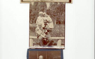 Борис Петрович Юргенсон (1868 -1935 г.) с детьми