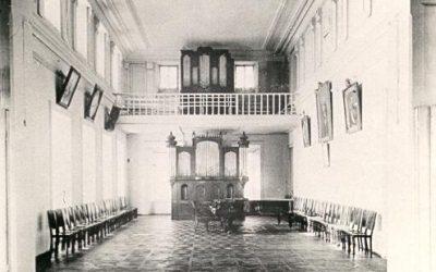 В 1885 г. П. И. Юргенсон пожертвовал консерватории орган, что позволило открыть класс обучения игры на органе.